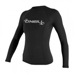 O'Neill Womens Basic Skins 50+ L/S Rash Guard