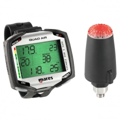 Mares Quad Air Computer w/ LED Transmitter