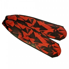 DiveR Red Triangle Composite Long Fin Blades