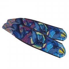 DiveR Whales Carbon Fiber Long Fin Blades