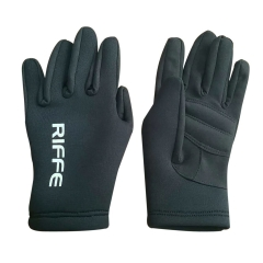 Riffe Black Amara Neoprene Gloves
