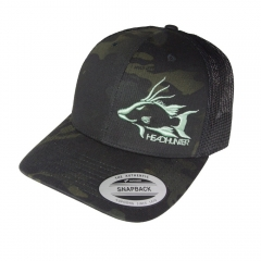 Headhunter Snapback Hat- Multicam Black
