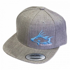 Headhunter Hogfish Flat Brimmed Snapback Hat *Limited Edition*