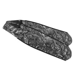 DiveR ReefLife Monochrome Composite Long Fin Blades
