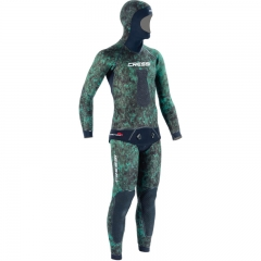 Cressi 3.5mm Green Hunter Open-Cell Wetsuit - EXCLUSIVE