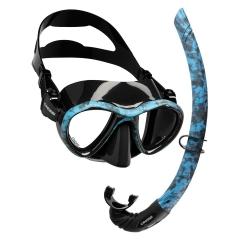 Cressi Metis Mask, Corsica Snorkel Package