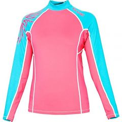 BARE Womens Lycra Sunguard Rash Guard