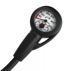 Oceanic Swiv Pressure Gauge With Boot and Hose