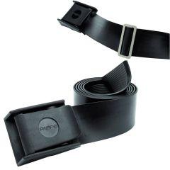 Riffe Rubber Weight Belt w/ Nylon Buckle