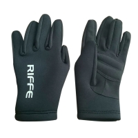 Riffe Black Amara Neoprene Gloves